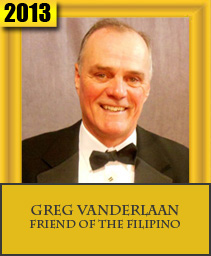 GREG VANDERLAAN FRIEND OF THE FILIPINO
