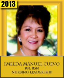 IMELDA MANUEL CUEVO, RN, BSN NURSING LEADERSHIP