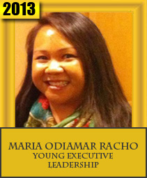 MARIA ODIAMAR RACHO YOUNG EXECUTIVE LEADERSHIP