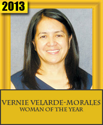 VERNIE VELARDE-MORALES WOMAN OF THE YEAR