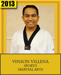 VINSON VILLENA SPORTS – MARTIAL ARTS