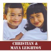 By: Christian & Maya Leighton