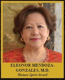 ELEONOR MENDOZA-GONZALES, M.D.  Human Spirit Award