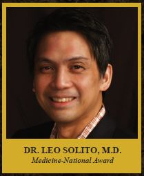 Dr. Leo Solito Medicine-National Award