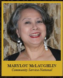 Marilou McLaughlin Community Service-National