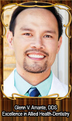 Glenn V. Amante, DDS Excellence in Allied Health-Dentistry