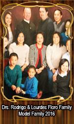 Drs. Rodrigo & Lourdes Floro Family Model Family 2016