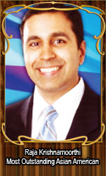 Raja Krishnamoorthi Most Outstanding Asian American