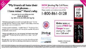 Jitterubug Flip Cellphone
